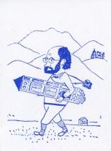 Caricatura sobre Gavin i l'Inventari d'esglésies