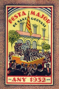 Festa Major de Sant Gervasi, 1932