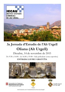 3a Jornada d'Estudis de l'Alt Urgell